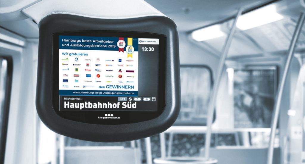 Hamburgs Beste Ausbidlungsbetriebe Screen Ansicht U-Bahn