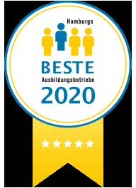 Hamburgs Beste Ausbildungsbetriebe Siegel 2020