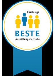 Hamburgs Beste Ausbildungsbetriebe Siegel