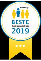 Hamburgs Beste Ausbildungsbetriebe Siegel 3 Sterne