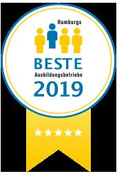 Hamburgs Beste Ausbildungsbetriebe Siegel 5 Sterne